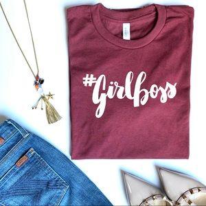 Girl Boss graphic tee #girlboss t-shirt top New!